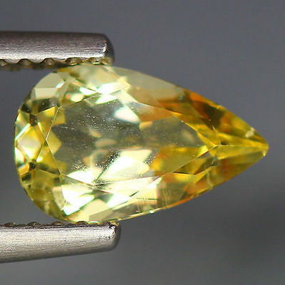 1.03 Cts_Wow Unbelivable Brazilian Gemstone_100 % Natural Heliodore Yellow Beryl