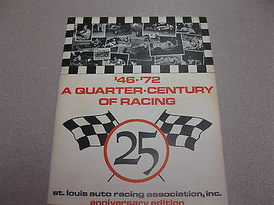 St Louis Auto Racing Association 25th Anniversary Edition 1946-1972