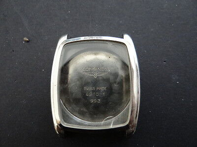 Used Men's Longines Automatic Watch's Case Stainless Steel For Part