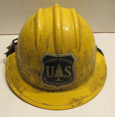 Wildland Fire- Bullard Fire Helmet (Hard Hat)- Color- Yellow- Full Brim