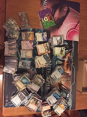 Netrunner Bulk Set - Playmats, Promo Cards, 3x Core Sets And Lots Of Data Packs