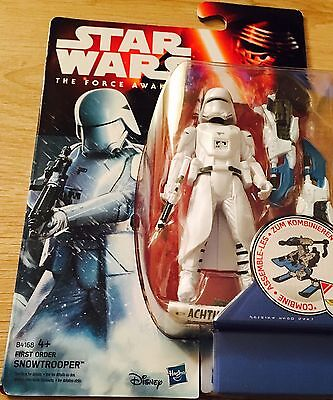 Star Wars  The Force Awakens Snow trooper  Action Figure