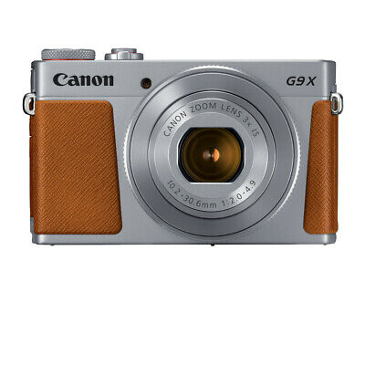 Canon PowerShot G9 X Mark II Digital Camera (Silver)