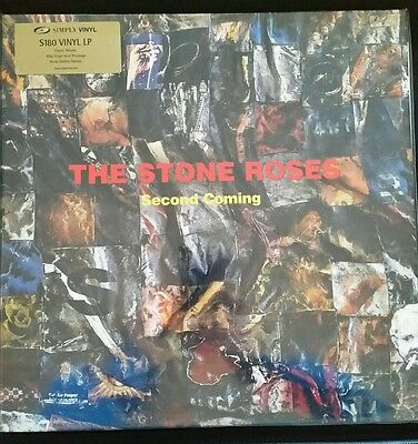 The Stone Roses ‎- Second Coming - SVLP111- Rare Limited Edition Simply Vinyl LP