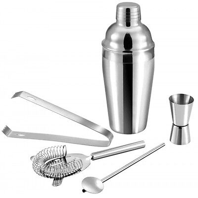 Set de 5 piezas para Cocktail de Acero Inoxidable (Cocktelera de 750 ml) - Chris