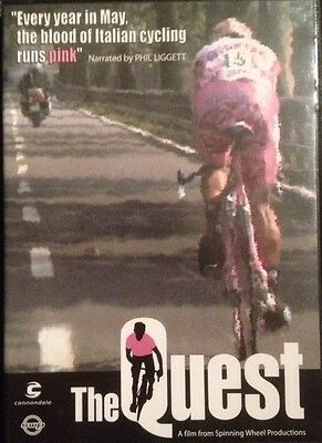 Radsport Cycling DVD THE QUEST Giro d Italia CANNONDALE Rarität