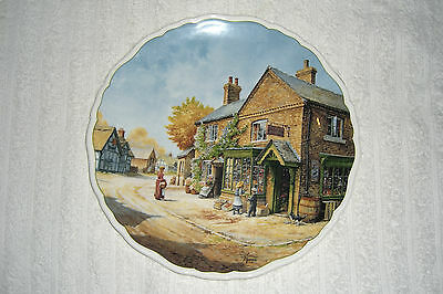 """Royal Doulton Anthony Forster Village Life Plate """"penny Wise"""""""