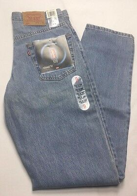 VTG Levis 550 Denim Jeans 1990s Relaxed Fit Pre Washed 31 x 36