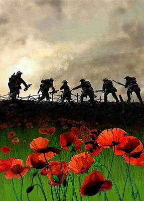 """8"""" x 6""""   GLOSSY  PHOTOGRAPHIC   PRINTS X 3 WW1 LEST WE FORGET"""