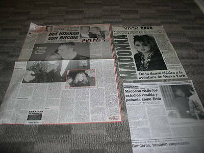 madonna clippings cuttings articles newspapers 3
