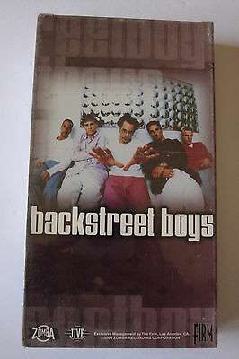 BACKSTREET BOYS For The Fans Exclusive Live Performances VHS