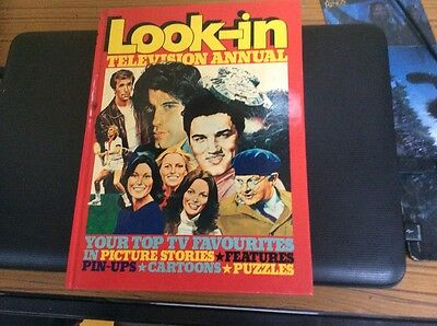 """""""LOOK- IN """" TELEVISION -1979 ANNUAL produced by Independant Television Books Ltd"""