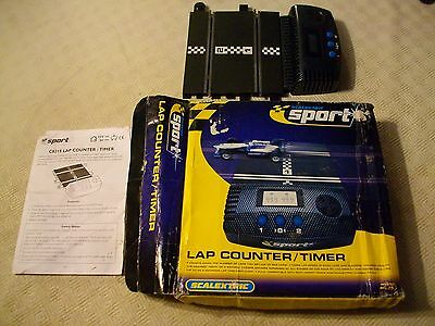 Scalextric electronic lap counter C8215