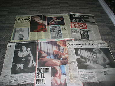 madonna clippings cuttings articles newspapers 4
