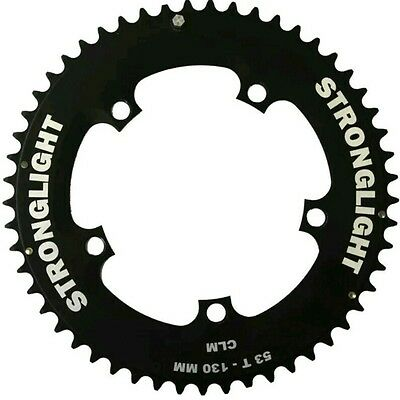 Stronglight TT Time Trial Aero Chainring 53T Shimano, FSA etc 130 BCD fitment