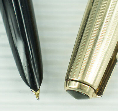 Parker 51 Black Vacumatic with Gold Filled Cap