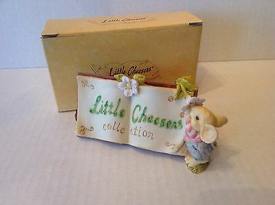 Ganz Little Cheesers DISPLAY SIGN 1993 LCPOP7 New in Box