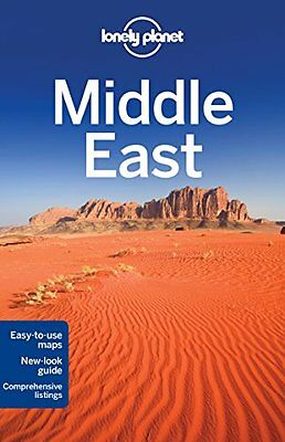 Lonely Planet Middle East (Travel Guide) New Paperback Book Lonely Planet, Antho