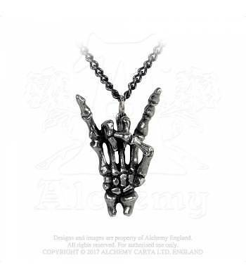 Alchemy Gothic Maloik: Sign Of The Horns: Maschio Pendant P797