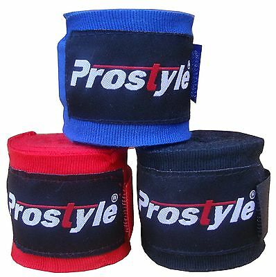 3 X Boxing Mexican Stretch Hand Wraps Bandages available 3, 3.5, 4.0, 4.5 Meters