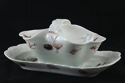 Fish or Gravy Boat~Vintage~Haviland~HgCo. mark