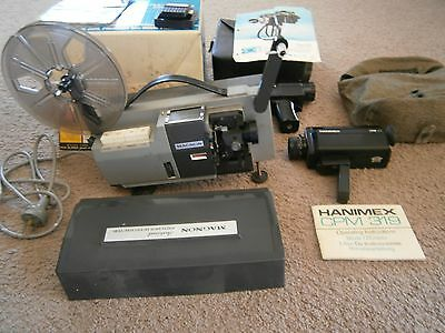 Movie Projector 8Mm Plus 2Movie Cameras & 2 Carry Cases.