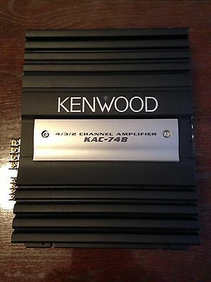 amplificateur KENWOOD  4/3/2 CANAUX KAC-748