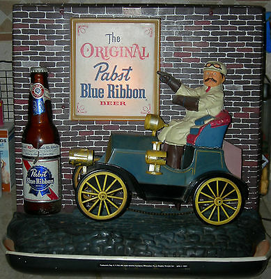 1960 Pabst Blue Ribbon Lighted Sign