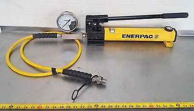 Enerpac P-391 Hydraulic Hand Pump 10,000 Psi Use With Your Cylinder Ram Press