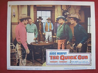 Lobby Card THE QUICK GUN 1964 AUDIE MURPHY - MERRY ANDERS