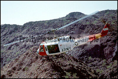 US Army UH-1 Iroquois/Huey Quick Force 1984 8x12 Photo