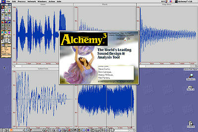 Alchemy 3.0.1 - Passport Design - Mac - Sample Editor - Akai, E-mu, Roland...