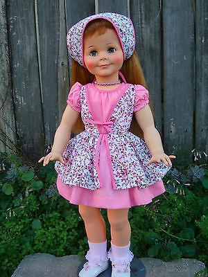"Miss Ideal doll Reproduction Dress for a 28""-30"" tall ""DRESS ONLY"""