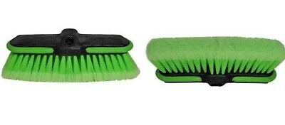 "2pc car wash brush head 10"" replacement head"