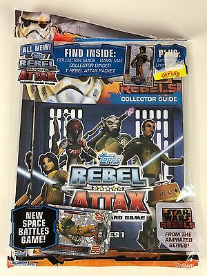 Topps Star Wars Rebel Attax Trading Card Starter Pack New Sealed UK Version