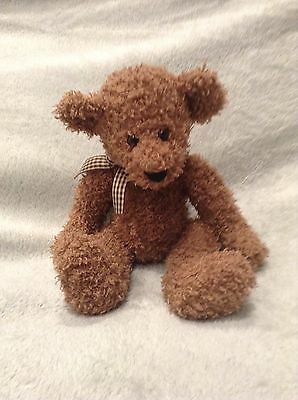 Frizzly Bear.Russ Berrie & Co.item Number 4105, Brown Bear,collectable Bear.