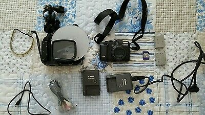 canon g12 underwater set