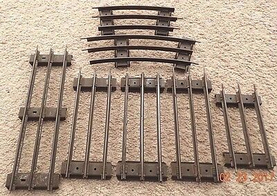 Lionel/american Flyer Standard Gauge Straight & Curve Track, 7 Sections