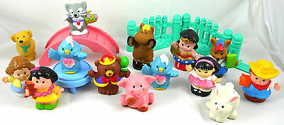Fisher Price Little People Lot  Animals & Peoples Figures & Accessories
