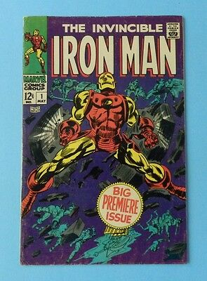 Invincible Iron Man Issue # 1 Marvel May 1968