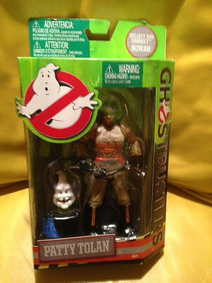 """Mattel Ghostbusters Patty Tolan 6"""" Black Female Action Figure Ghostbusters Movie"""