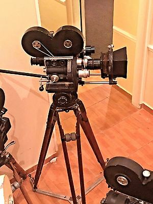 Studios Bell & Howell 2709 35mm Motion Picture Camera Full Kit! #672