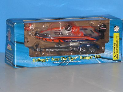 Kellogg's, Tony The Tiger, Ranger 520 Speed Boat, 1/43 Scale..Close to O Scale