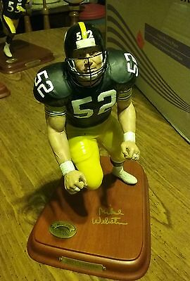 Danbury Mint  Pittsburgh Steelers Mike Webster Rare