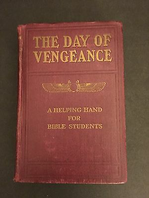 The Day Of Vengeance A Helping Hand For Bible Students IBSA WatchTower IBSA 1911
