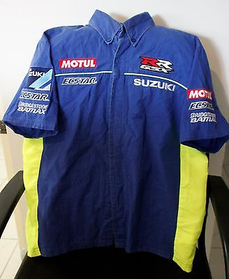 Team Suzuki Ecstar GSX RR Race Shirt SIZE S Official Merchandise