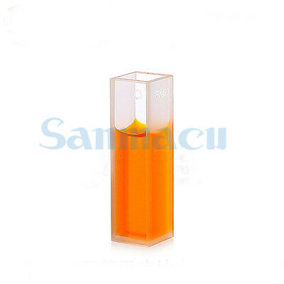 Bonding 10mm JGS1 Quartz Cell Cuvette And Level Bottom For Spectrophotometers