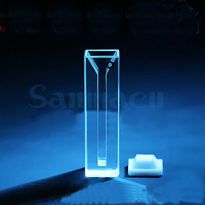1050ul 10mm Path Length Micro Jsg1 Quartz Cuvette With Lid(1050ul)