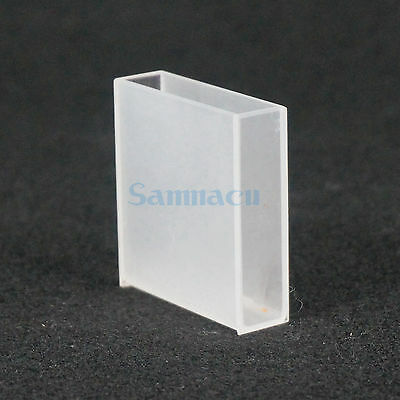 40mm Path Jgs-3 Quartz Cuvette Cell With Lid For For Infrared Spectrometer