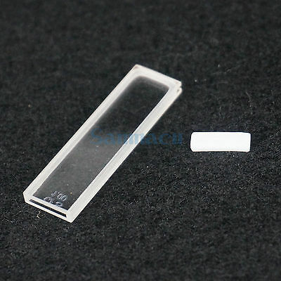 1mm Path Length JGS1 Quartz Cuvette Cell With Lid For Uv Spectrophotometers